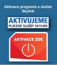 Aktivace placených balíčku Skylink